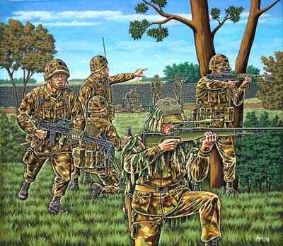 2519 Revell Britse Infanterie (modern)