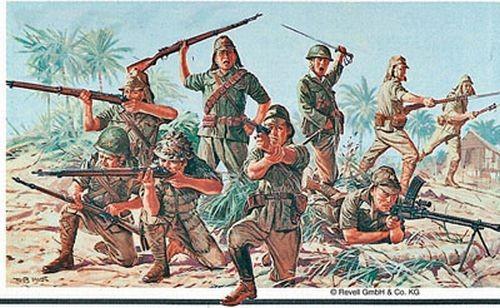 02528 Revell Japanse Infanterie WWII