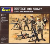 2617 Revell British 8. army WWII