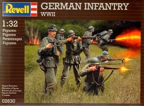 2630 Revell Deutsche Infanterie WWII