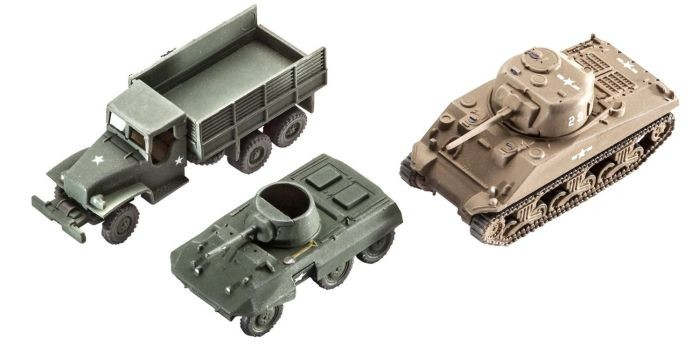 3350 Revell Us Army Vehicles