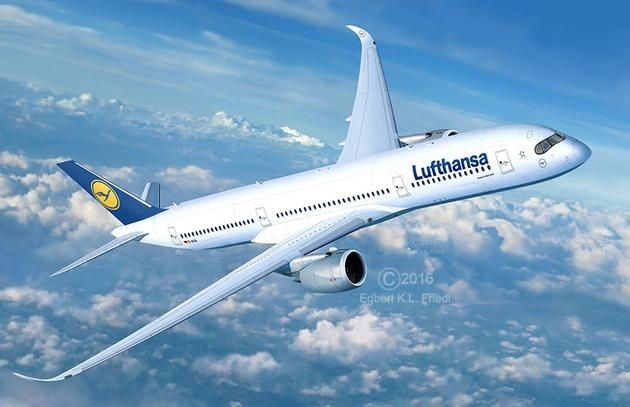 3938 Revell Airbus A350-900 Lufthansa