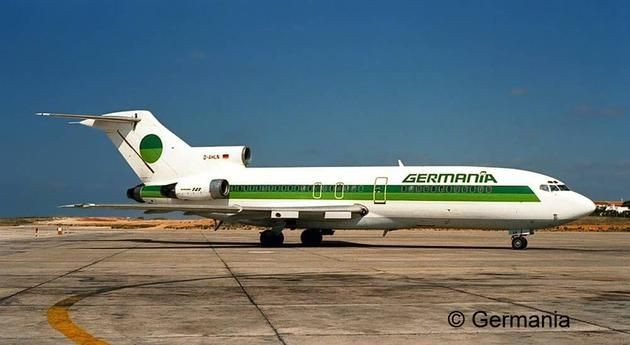 3946 Revell Boeing 727-100 GERMANIA