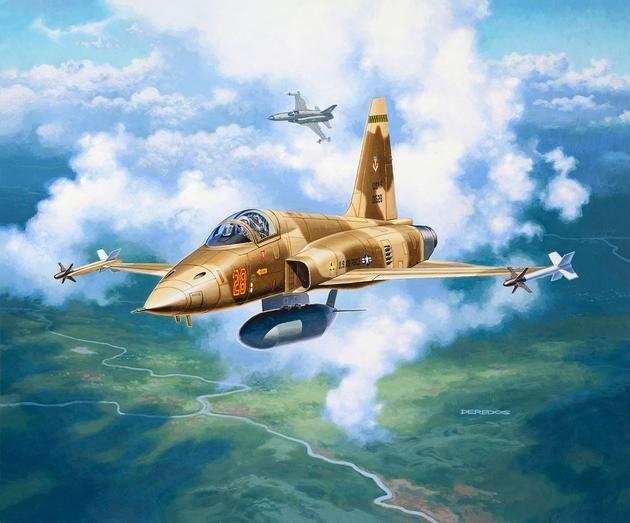 3947 Revell F-5E Tiger II