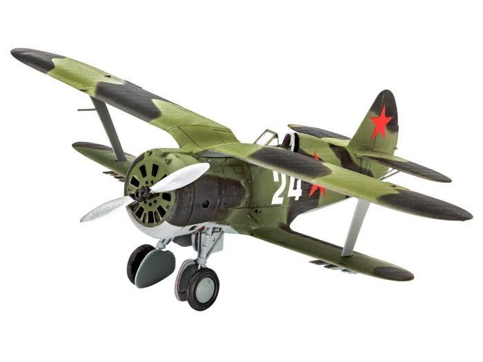 3963 Revell Polikarpov I-153 C