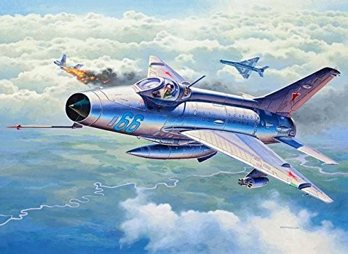 3967 Revell MIG-21 F-13 Fishbed C