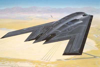 04070 revell b-2 stealth bomber