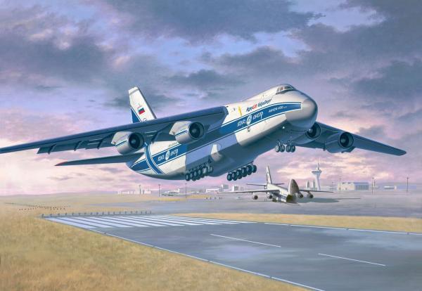 "04221 revell antonov an-124 ""ruslan"" [niv 5]"