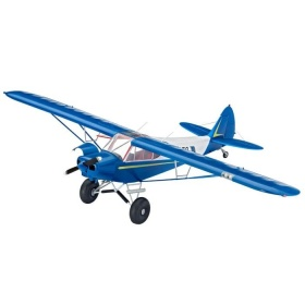 4890 Revell Piper PA-18 With Bushwheels