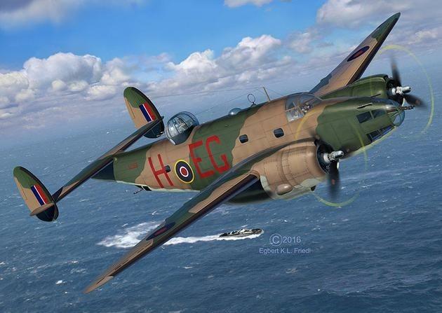 4946 Revell Lockheed Ventura Mk.II