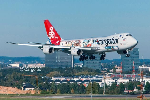 4949 Revell Boeing 747-8F Cargolux Cutaway