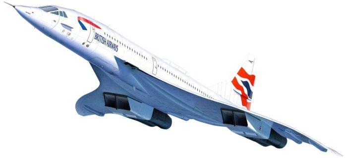 4997 Revell Concorde British Airways