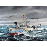 5132 Revell Flower Class Corvette HMCS Snowberry