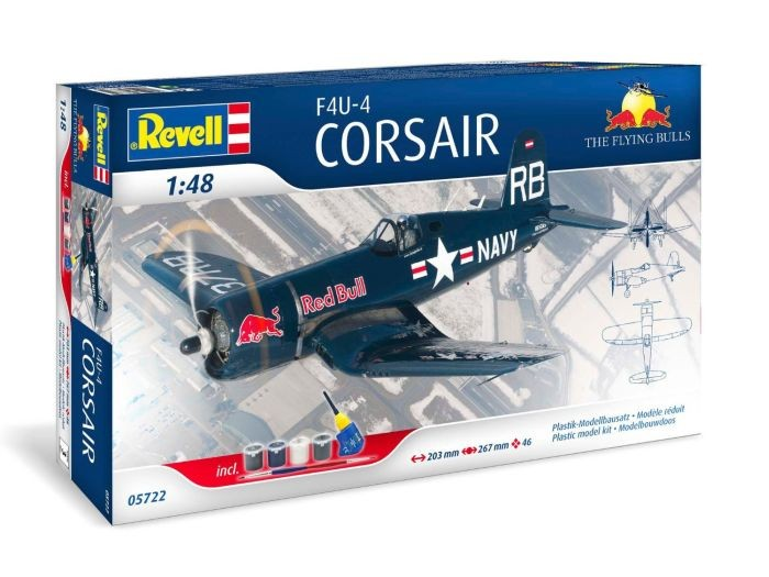 05722 Revell F4U-4 Corsair Flying Bulls