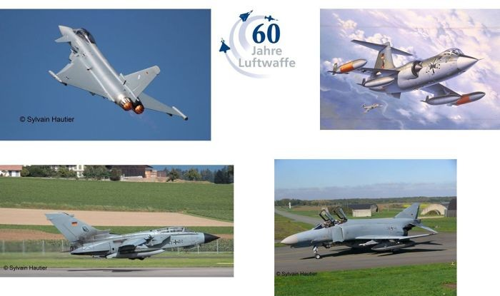 05797 Revell Geschenkset 60 Jahre Luftwaffe