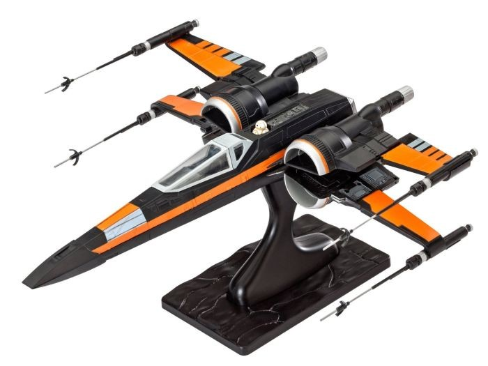 6692 Revell Star Wars Poe's X-Wing Fighter