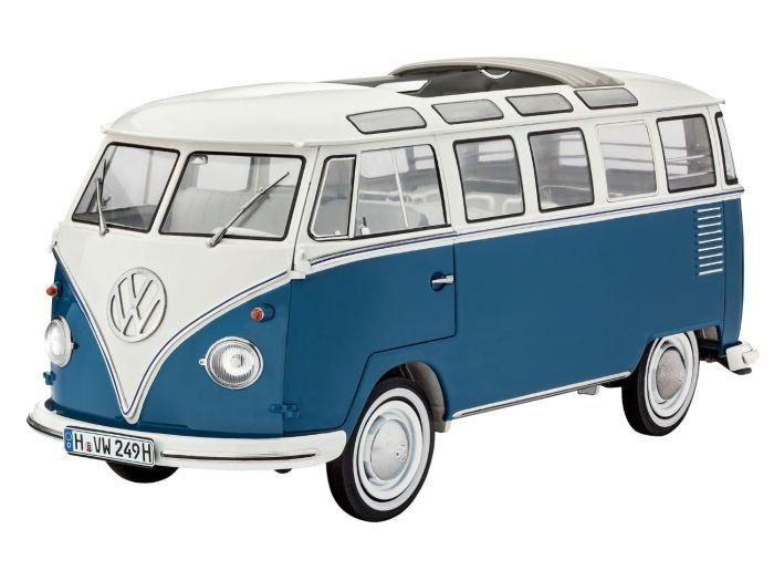 7009 Revell VW Type 2 T1 Samba