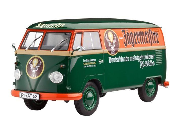 07076 Revell VW T1 Panel Transporter Jagermeister