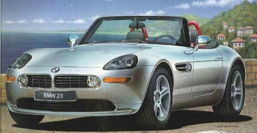 07080 Revell BMW Z8 [niv 3]