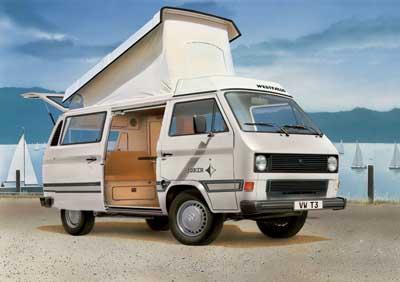 7344 revell vw t3 camper westfalia joker niv 3. Black Bedroom Furniture Sets. Home Design Ideas