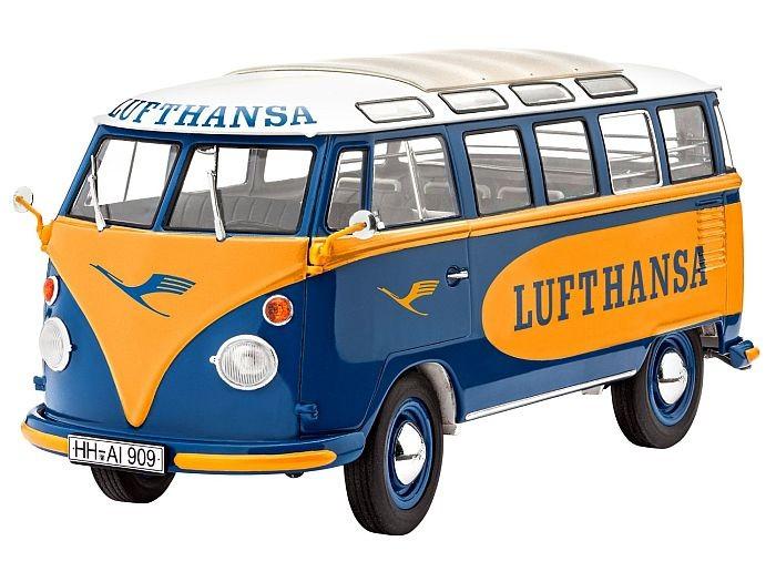 7436 Revell VW T1 SAMBA BUS LUFTHANSA