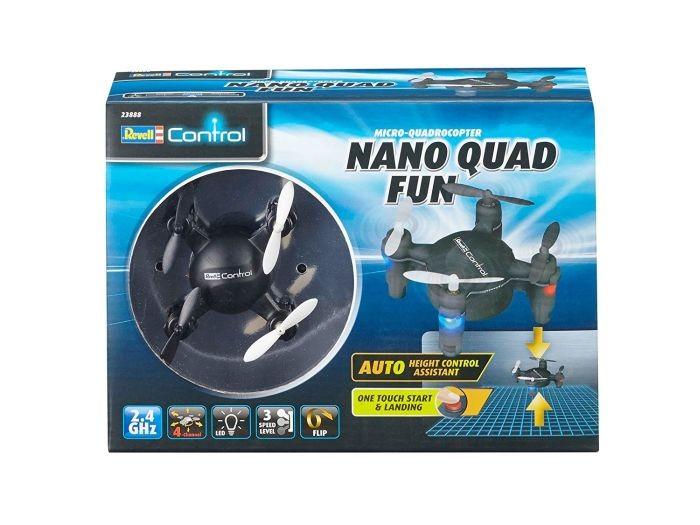 23888 Revell Quadcopter Nano Quad Fun Zwart