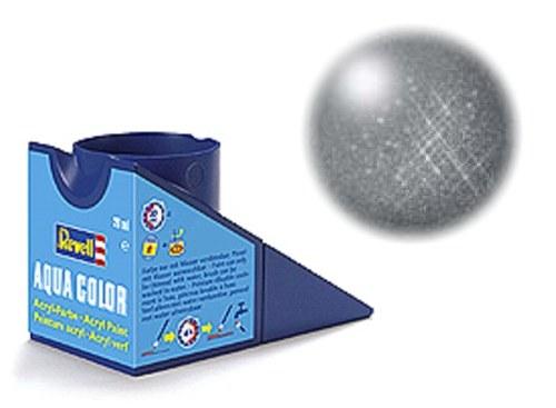36191 Revell Aqua staal, metallic