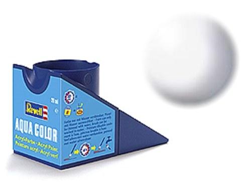36301 revell aqua wit, zijdemat