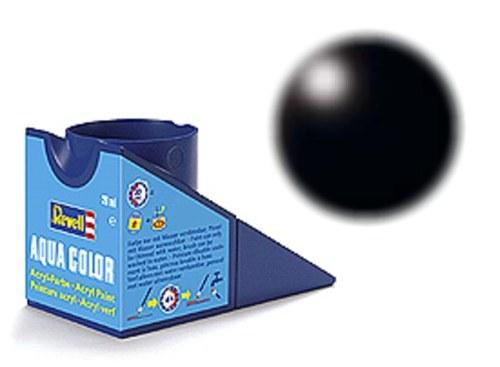 36302 revell aqua zwart, zijdemat