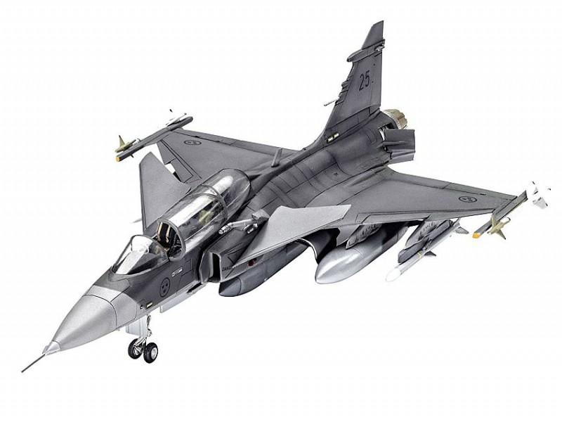 63956 Revell Modelset Saab JAS-39D Gripen Twinseater