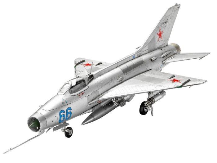 63967 Revell Modelset MiG-21 F-13 Fishbed C im Mastab 1:72