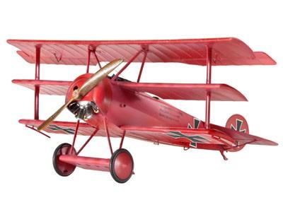 64682 Revell Modelset Fokker Dr.I Triplane [niv 4]
