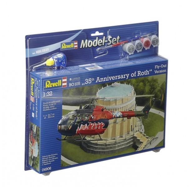 64906 Revell Modelset BO 105 Fly Out Painting
