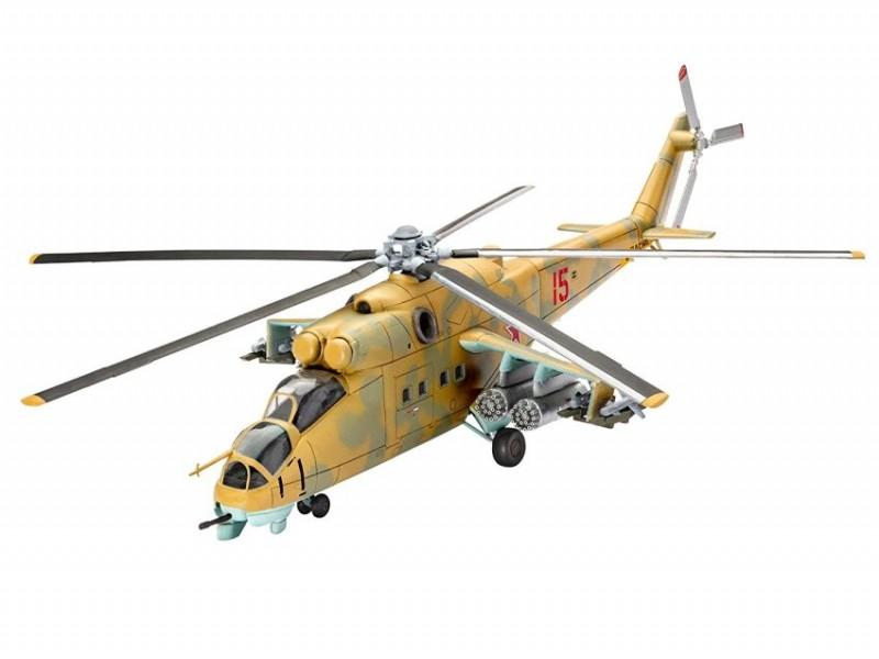 64951 Revell Modelset Vliegtuig Mil Mi-24D