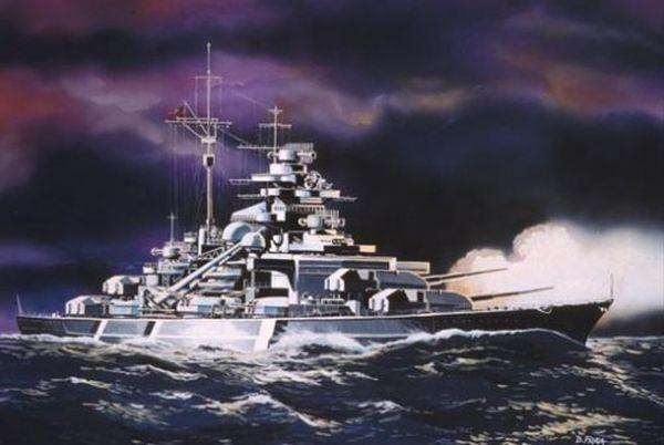 65802 Revell Modelset Bismarck Revell