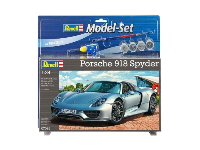 67026 Revell modelset porsche 918 spyder 1:24