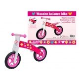 Loopfiets hout Girl