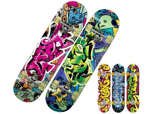 Skateboard groot De Luxe