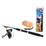 Game On Fishing Telwerp Hengel met accessoires