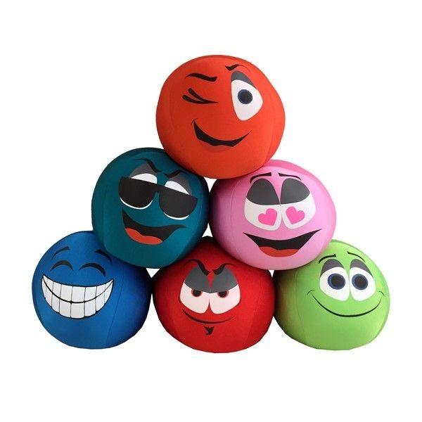 Spandex Funny Emoticon Bal