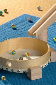 Knikkerbaan trommel