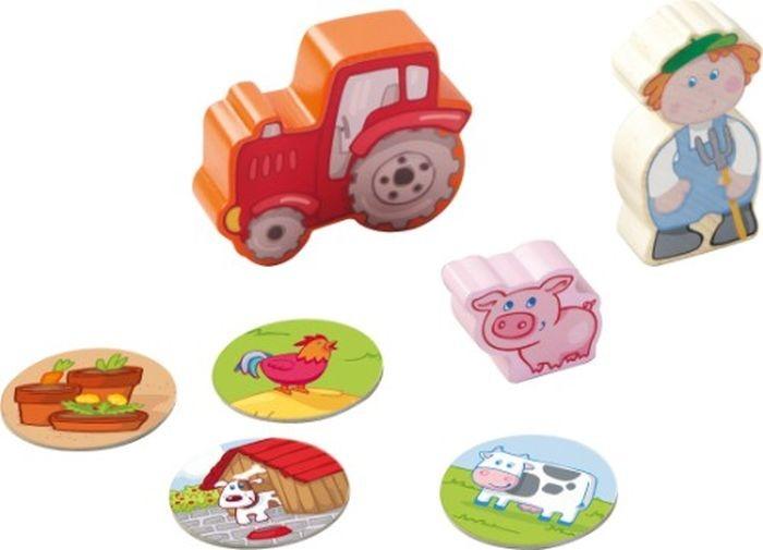 Haba Speelfiguren Boer Tim en zijn tractor
