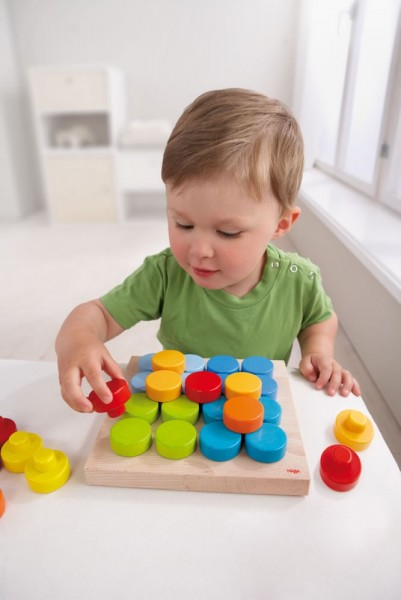 Haba Pegging Game-Colour Buttons