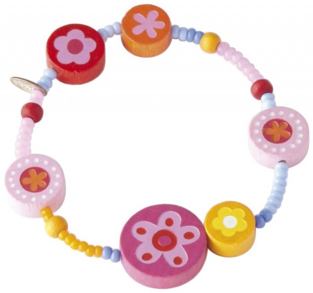 Haba Bloemenballetjes - Armband