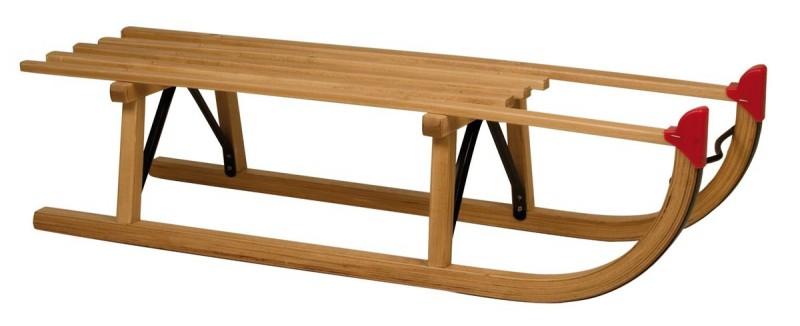 Slede hout Davos 100 cm