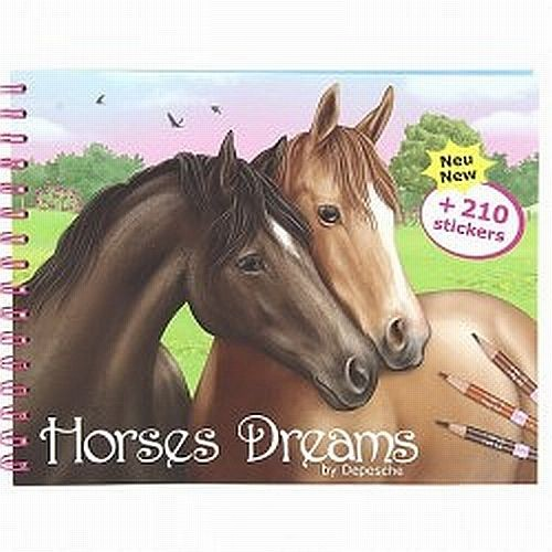 Horses Dreams Drawing Book