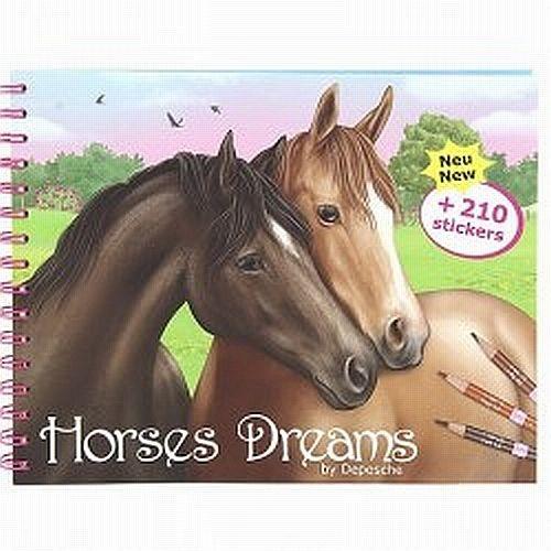 Horses Dreams Drawing Book