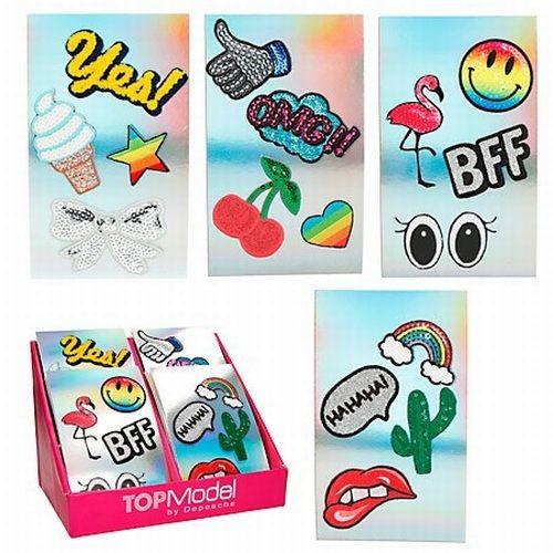 Topmodel Sticker Set Van 4 stickers