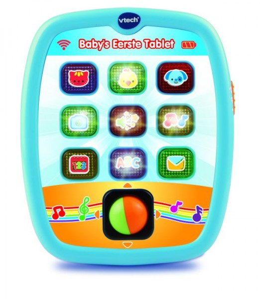 vtech baby 39 s eerste tablet. Black Bedroom Furniture Sets. Home Design Ideas