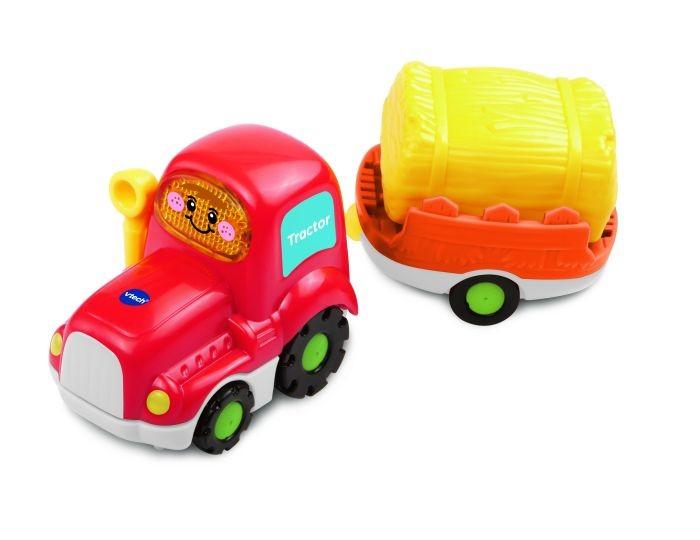 Vtech Toet Toet Auto's Tom Tractor en Trailer